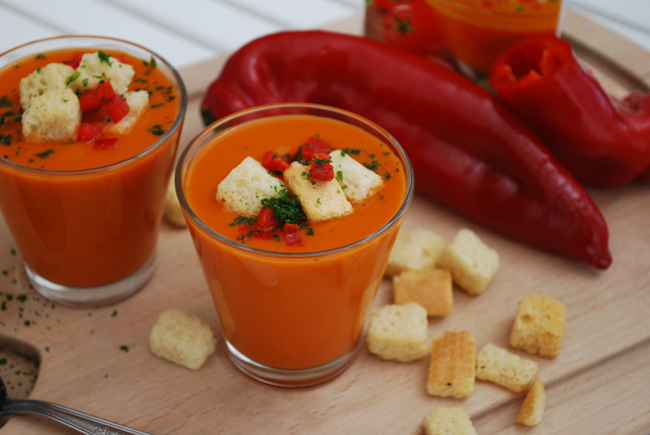 Creamy Gazpacho Recipe — Dishmaps