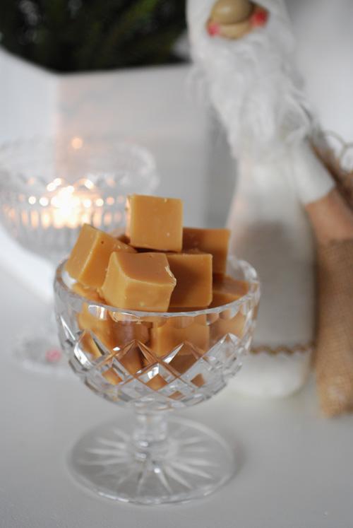 vit chokladfudge med citron
