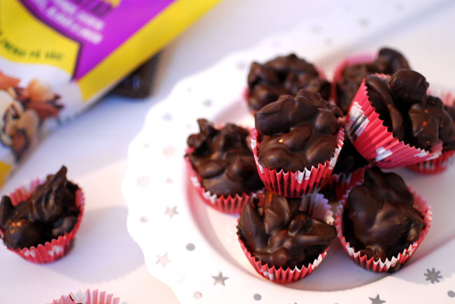 Nötchokladtoppar matsmart